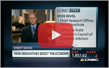 Click here to view the video of Ross DeVol on CNBC